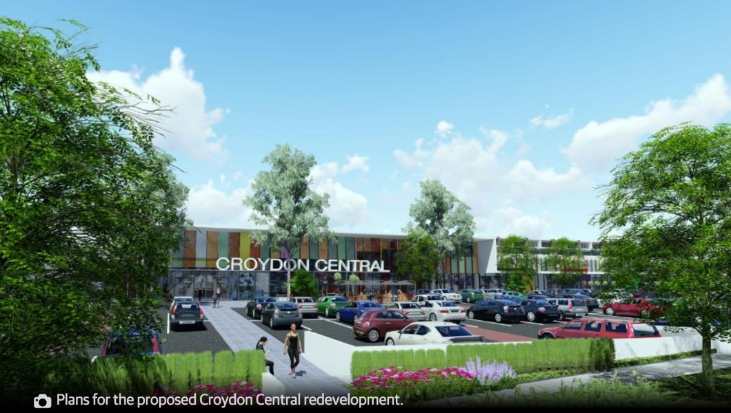 Croydon Central Shopping Centre future